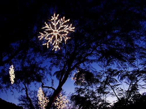 LED Snowflake – Warm White