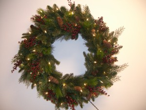 Noel Front Door Wreath