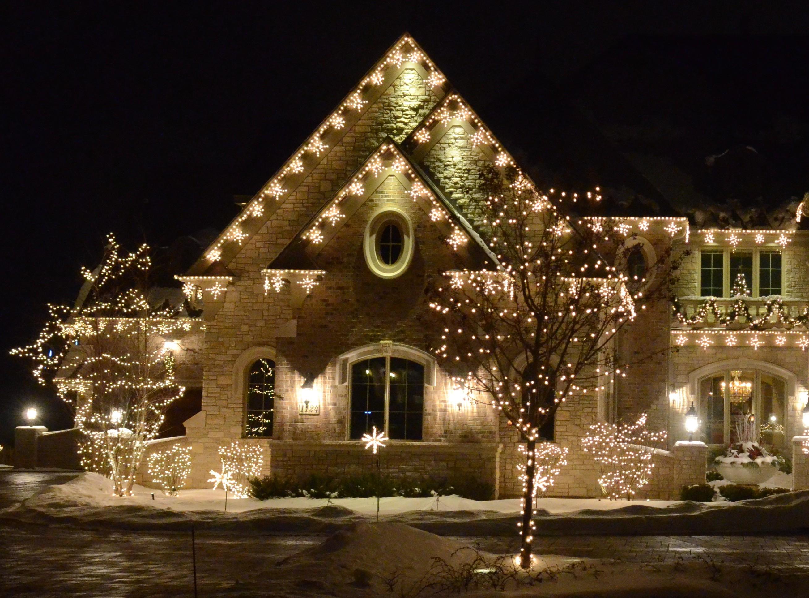 Led Christmas Lights Warm White.Warm White Christmas Lights Collection Christmas Tree