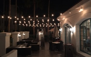 LED Patio lights by holiday bright lights