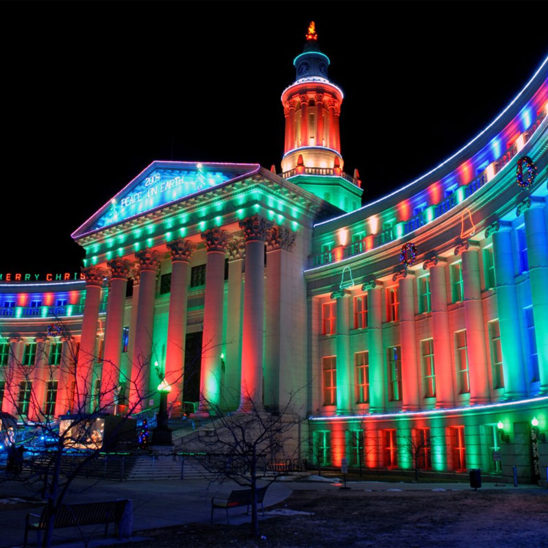 LED-RGB-Commercial-Wall-Washing Holiday Bright Lights