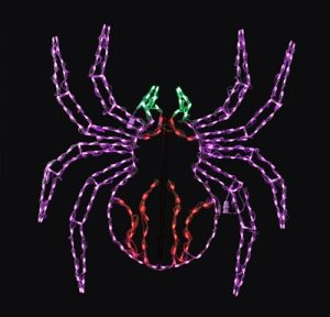 Halloween Spider Holiday Bright Lights LED