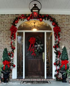 decorative-garland-on-door-way-holiday-bright-lights