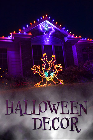 holiday bright lights halloween decor