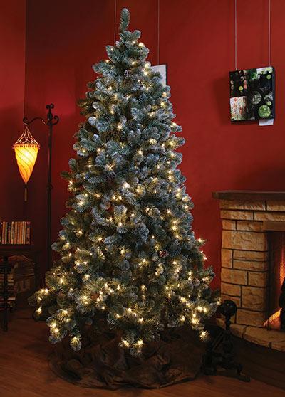 Glacier Pine Life Artificial Christmas Tree