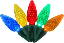 C6 led multi fan decorator