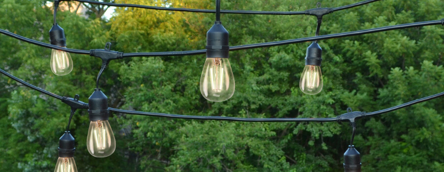 patio and event lighting