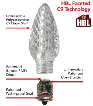C9 Bulb Diagram