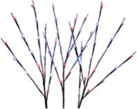 patriotic led twig lights